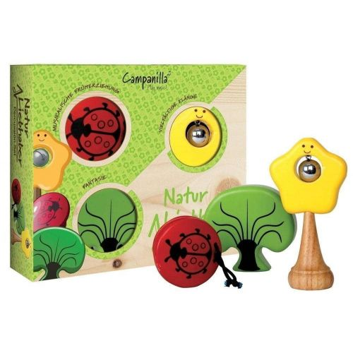 CAMPANILLA SET DE PERCUSION NATURE LOVER
