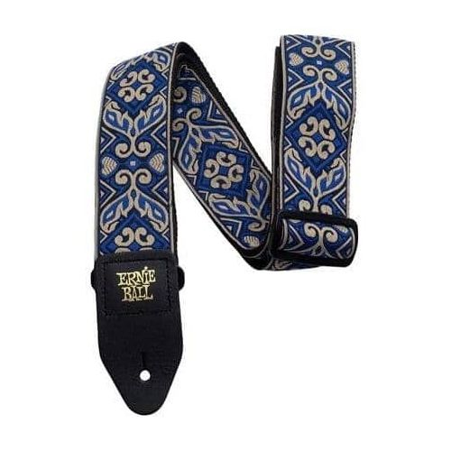 ERNIE BALL EB4165 TRIBAL BLUE PAISLEY JACQUARD