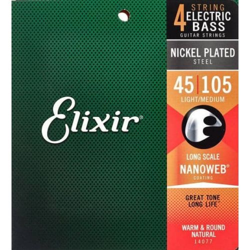 ELIXIR NANOWEB LIGHT-MEDIUM (45-105) CEL14077