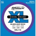 D'ADDARIO EXL-115 BLUES/JAZZ ROCK (11-49)