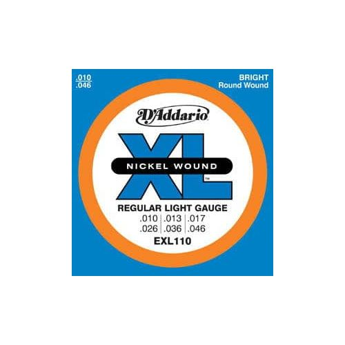 D'ADDARIO EXL-110 REGULAR LIGHT (10-46)