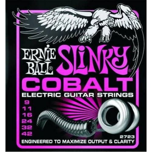 ERNIE BALL 2723 COBALT SUPER  (9-42)