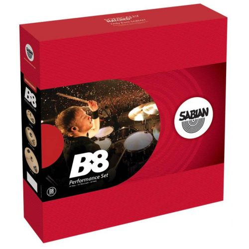SABIAN B8 PERFORMER SET