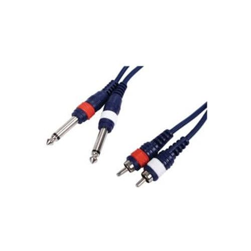 IMPCABLE 2RCA-2JACK DR2-3 (3m)