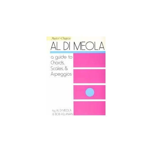 DI MEOLA/ASLANIAN. A Guide to chords, Scales and Arpeggios