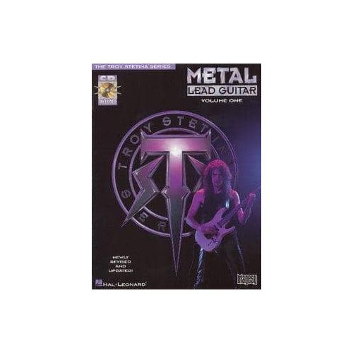 STETINA,T. Metal Lead guitar Vol 1 (CD)