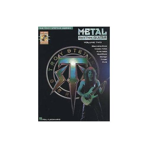 STETINA,T. Metal Rhythm guitar Vol 2 (CD)
