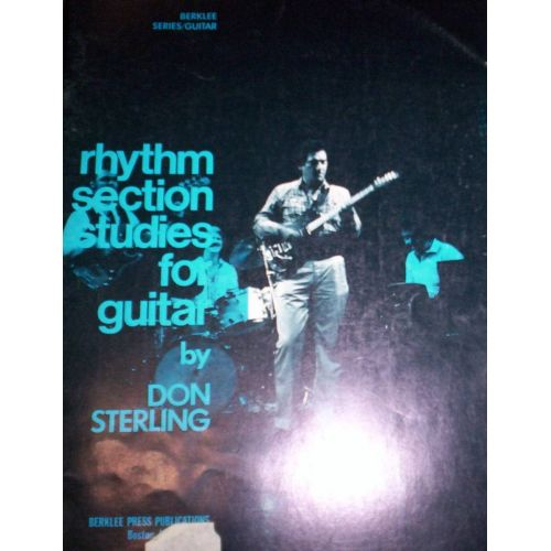 STERLING,D. Rhythm Section Studies for Guitar