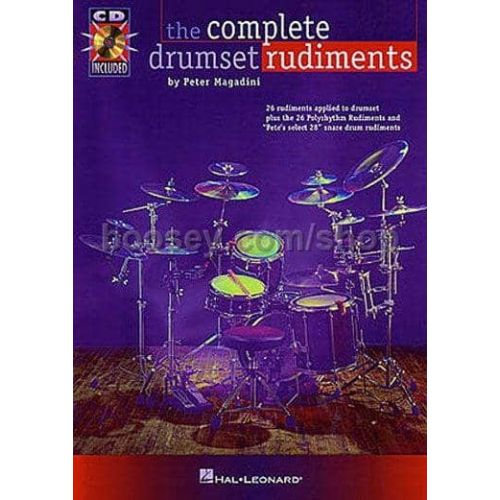 MAGADINI,P. The complete drumset rudiments