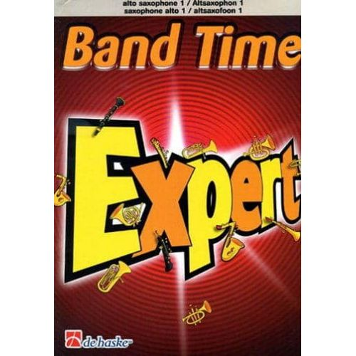 DE HAAN,J. Band Time Expert Percusion 1 y 2