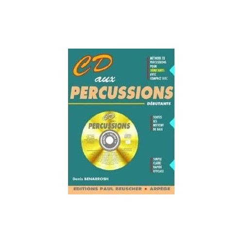 BENARROSH,D. CD aux Percussions Metodo