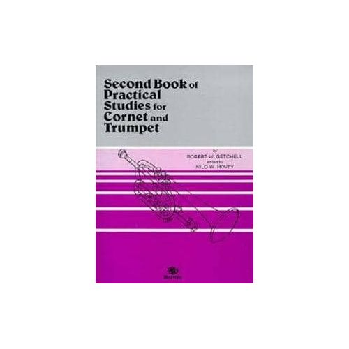 GETCHELL,R. Second Book of practical studies for Corn and trumpet