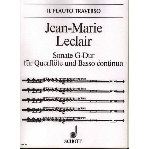 LECLAIR,J.M. Sonata en G Mayor Op.9 Nº 7