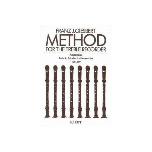 GISBERT,F.J. Method for the Treble Recorder
