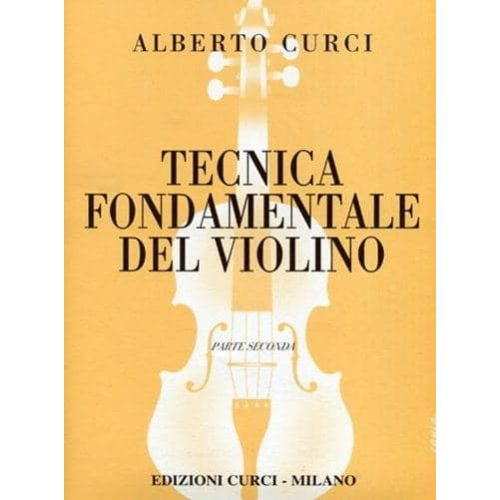 CURCI,A. Tecnica fundamental del violin Vol 2
