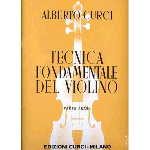 CURCI,A. Tecnica fundamental del violin Vol 4