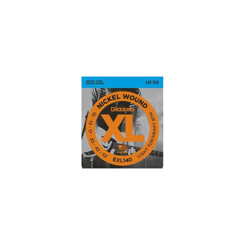 D'ADDARIO EXL-140 LIGHT TOP/HEAVY BOTTOM (10-52)