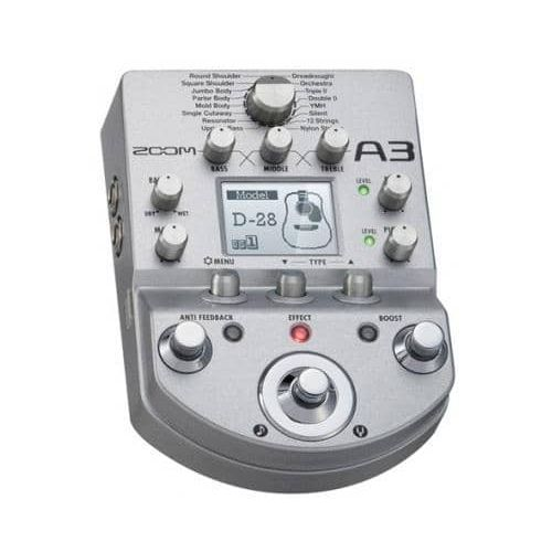 ZOOM A3 ACOUSTIC
