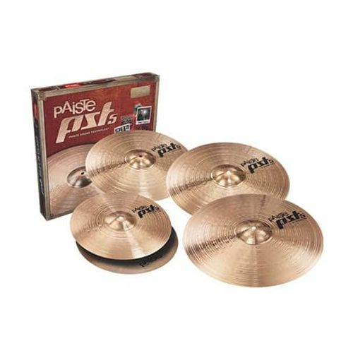 PAISTE PST5 UNIVERSAL MEDIUM SET (+ CRASH 18)