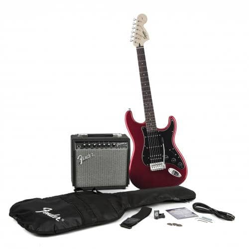 SQUIER AFFINITY STRAT HSS + CHAMPION 20 (CAR)
