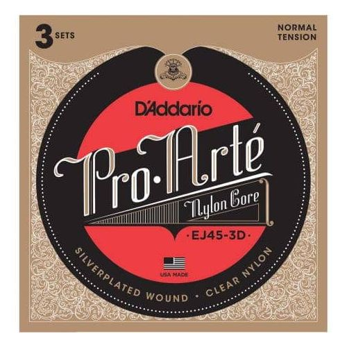 D'ADDARIO EJ45-3D PACK 3 JUEGOS TENSION NORMAL