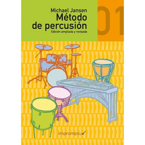 JANSEN.M. Metodo de Percusion Vol 1 (CD)
