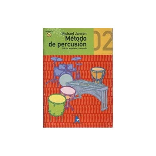 JANSEN.M. Metodo de Percusion Vol 2 (CD)