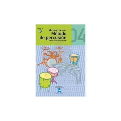 JANSEN.M. Metodo de Percusion Vol 4 (CD)