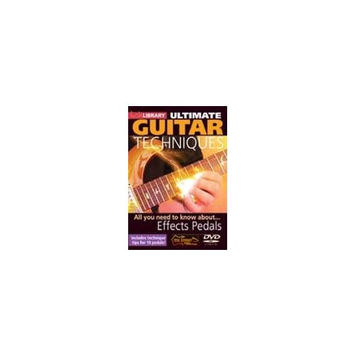 CASSWELL,M. Ultimate Guitar Effects Pedals (DVD)