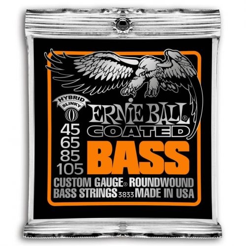 ERNIE BALL 3833 BASS COATED SUPER (45-105)