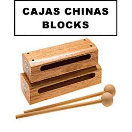 Cajas Chinas y Blocks